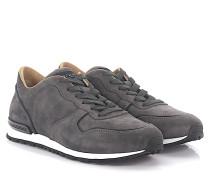 Sneaker Allaciato Active Veloursleder