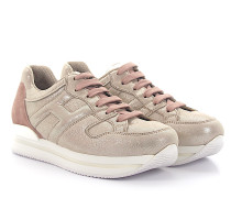 Sneaker H222 Nubukleder beige finished