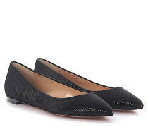 Ballerinas Palladium Flat Pump Satin Pailletten