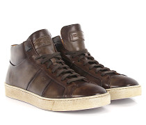 Sneakers 14357 Mid Top Leder braun