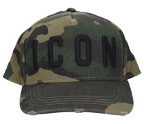 Snapback Cap CARGO Gabardine Camouflage logo