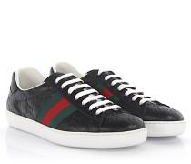 Sneakers Ace Leder -Webdetails grün rot prägung