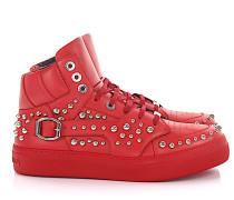 Sneaker high RUBEN Kalbsleder Nieten Zierschnalle