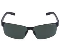 Sonnenbrille Squared P8565 A 66/13 Acetat schwarz