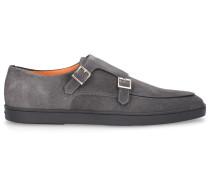 Monk Schuhe 16384 Wildleder