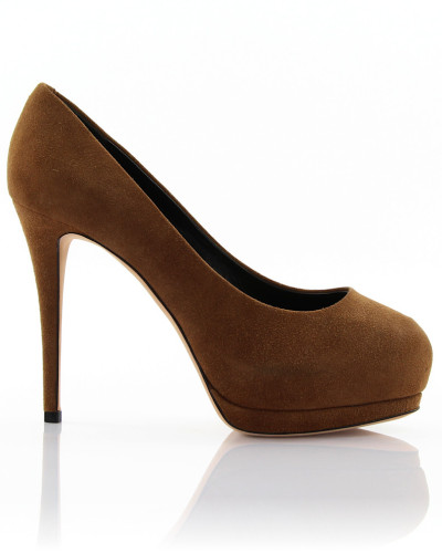High Heels Pumps EVA Veloursleder