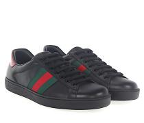 Ace Sneaker A38D0 Leder Web-Streifen