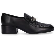 Loafer 1710 Nappaleder Metallisch