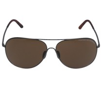 Sonnenbrille Aviator P8605 A 64/12 Acetat Metall