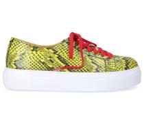 Sneaker low 9121 Kalbsleder Print