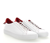 Sneaker URBAN STREET Leder weiss