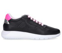 Sneaker low H371 INTERACTIVE 3 Kalbsleder Logo rosa