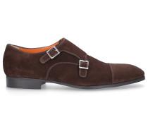 Monk Schuhe 14549 Veloursleder