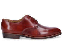 Businessschuhe Derby 5310 Kalbsleder bordeaux