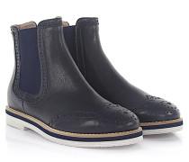Agl Stiefeletten Boots D72150 Leder Lyra-Lochung