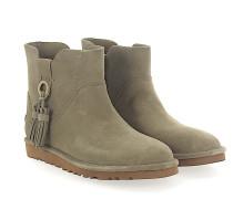 Stiefeletten Boots GIB Veloursleder khaki