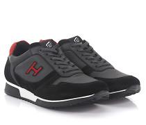 Sneaker H198 Slash Leder Veloursleder