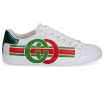 Sneaker low NEW ACE SNEAKER Kalbsleder Logo