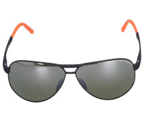 Sonnenbrille Aviator 8649 G Titan schwarz orange