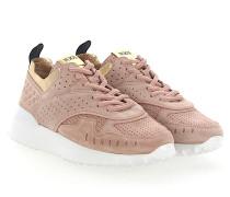 Sneaker A0W590 Veloursleder rosè Lochmuster
