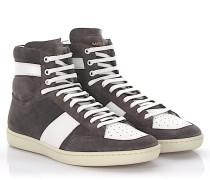 Sneaker SL/10H High Veloursleder Leder white