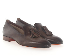 Tassel Loafer 56329 Leder finished