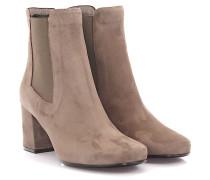 Stiefeletten Boots 8452 Veloursleder taupe
