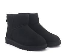 Stiefeletten Boots CLASSIC MINI 2 Veloursleder Lammfell