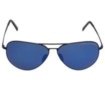 Sonnenbrille Aviator P8508 U 62/12 Metall schwarz