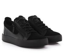 Sneaker Low Frankie Veloursleder Leder