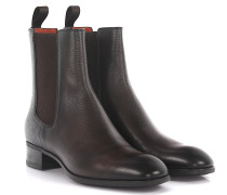Stiefeletten Boots 53554 Leder geprägt