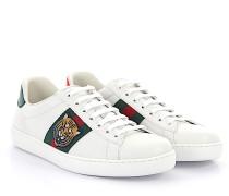 Ace Sneaker A38G0 Leder Webdetail Tiger-Stickerei