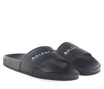 Sandalen WAL00 Nappaleder Logo geprägt
