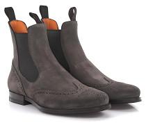 Chelsea Boots 13510 Budapester Veloursleder