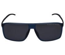 Sonnenbrille Wayfarer 8653 D Acetat Titan blau