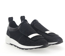 Slip-On Sneaker A80840 Stoff glitzer Mesh