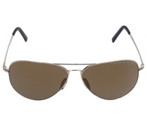 Sonnenbrille Aviator P8508 E 60/12 Metall gold