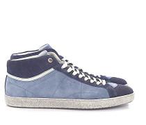 Sneaker 11927 Mid Top Veloursleder -kombi perforiert