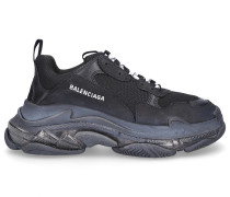 Sneaker low TRIPLE S Kalbsleder Polyester Logo