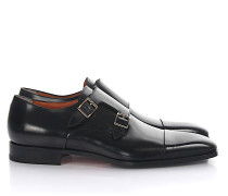 Monk Schuhe 07508 Kalbsleder