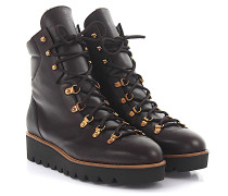 Stiefeletten Boots 8622 Leder Fell
