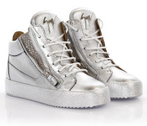 Sneakers High May London Kriss Leder Strassverzierung
