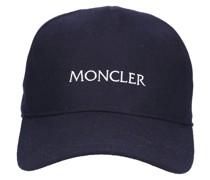 Mütze 54233 Baumwolle Stikerei dunkel