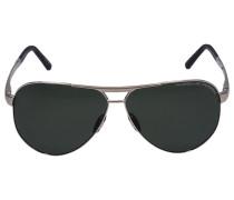 Sonnenbrille Aviator 8649 B Titan gold
