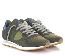 Sneaker Tropez Low Veloursleder Nylon