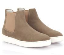 Chelsea Boots E54587 Veloursleder