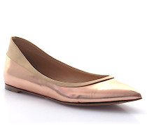 Ballerinas G20903 Leder metallic bronze Satin
