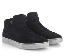 Sneakers Mid Cut 14357 Veloursleder