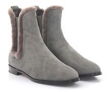 Chelsea Boots 8110 Veloursleder Lammfell