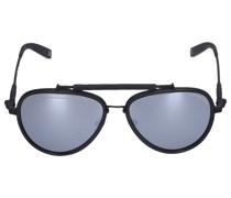 Sonnenbrille Aviator 253205 metall schwarz